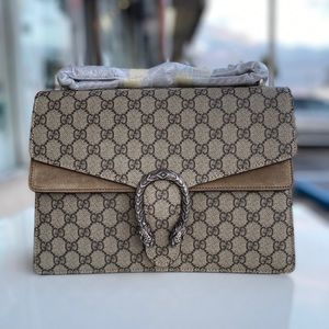 Gucci Dionysus medium GG shoulder bag biege